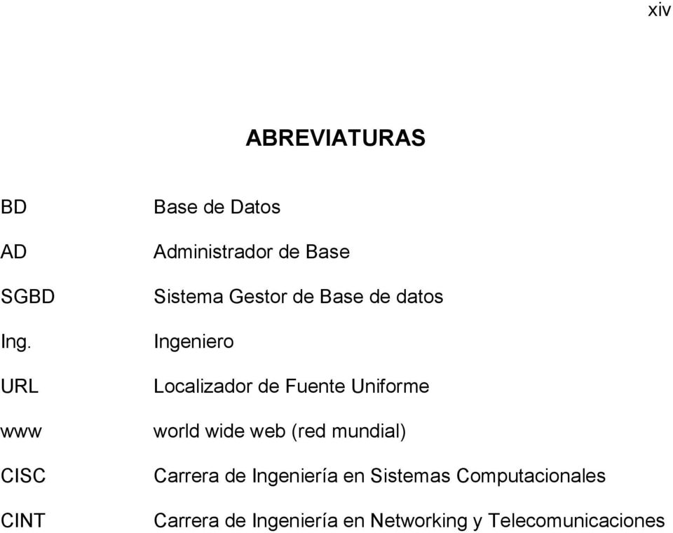 Base de datos Ingeniero Localizador de Fuente Uniforme world wide web