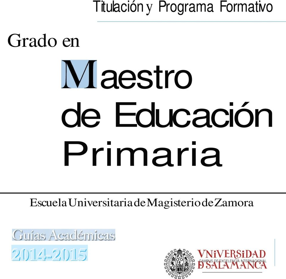 Universitaria de Magisterio de Zamora
