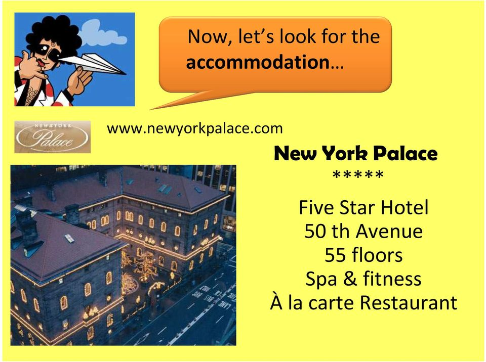 com New York Palace ***** Five Star