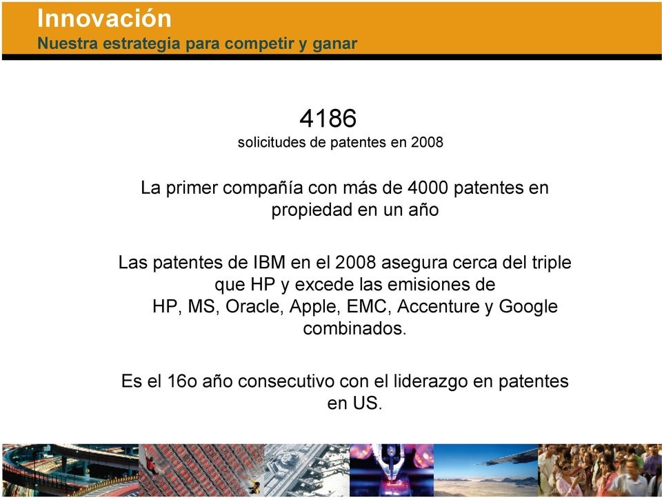 2008 asegura cerca del triple que HP y excede las emisiones de HP, MS, Oracle, Apple, EMC,