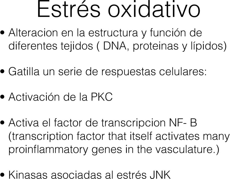la PKC Activa el factor de transcripcion NF- B (transcription factor that itself