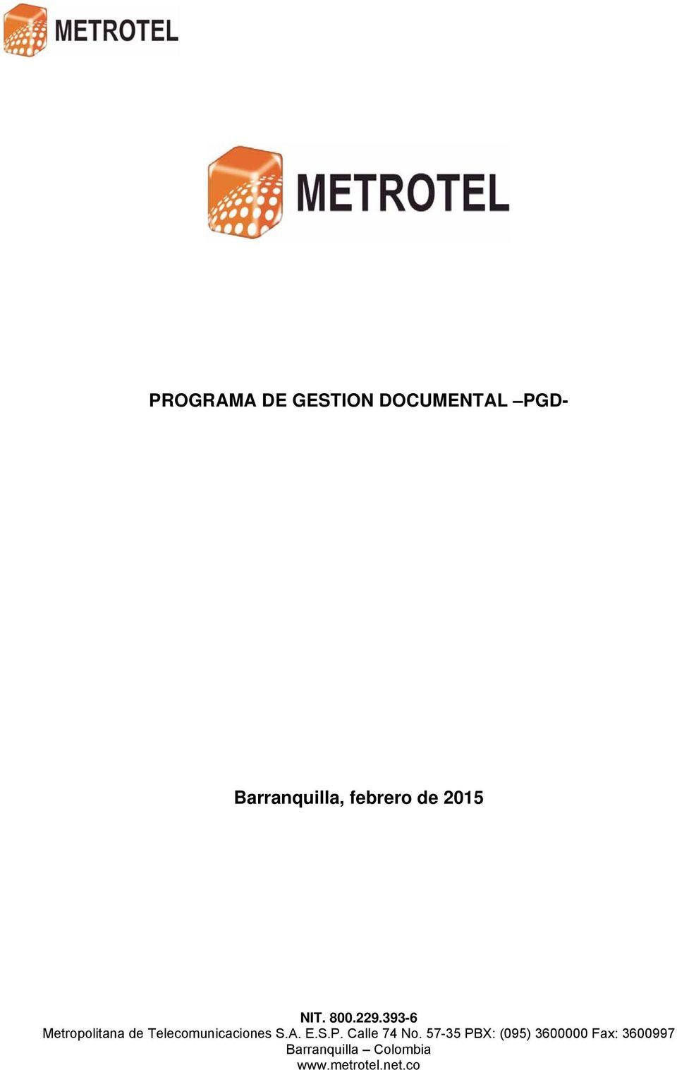 DOCUMENTAL PGD-