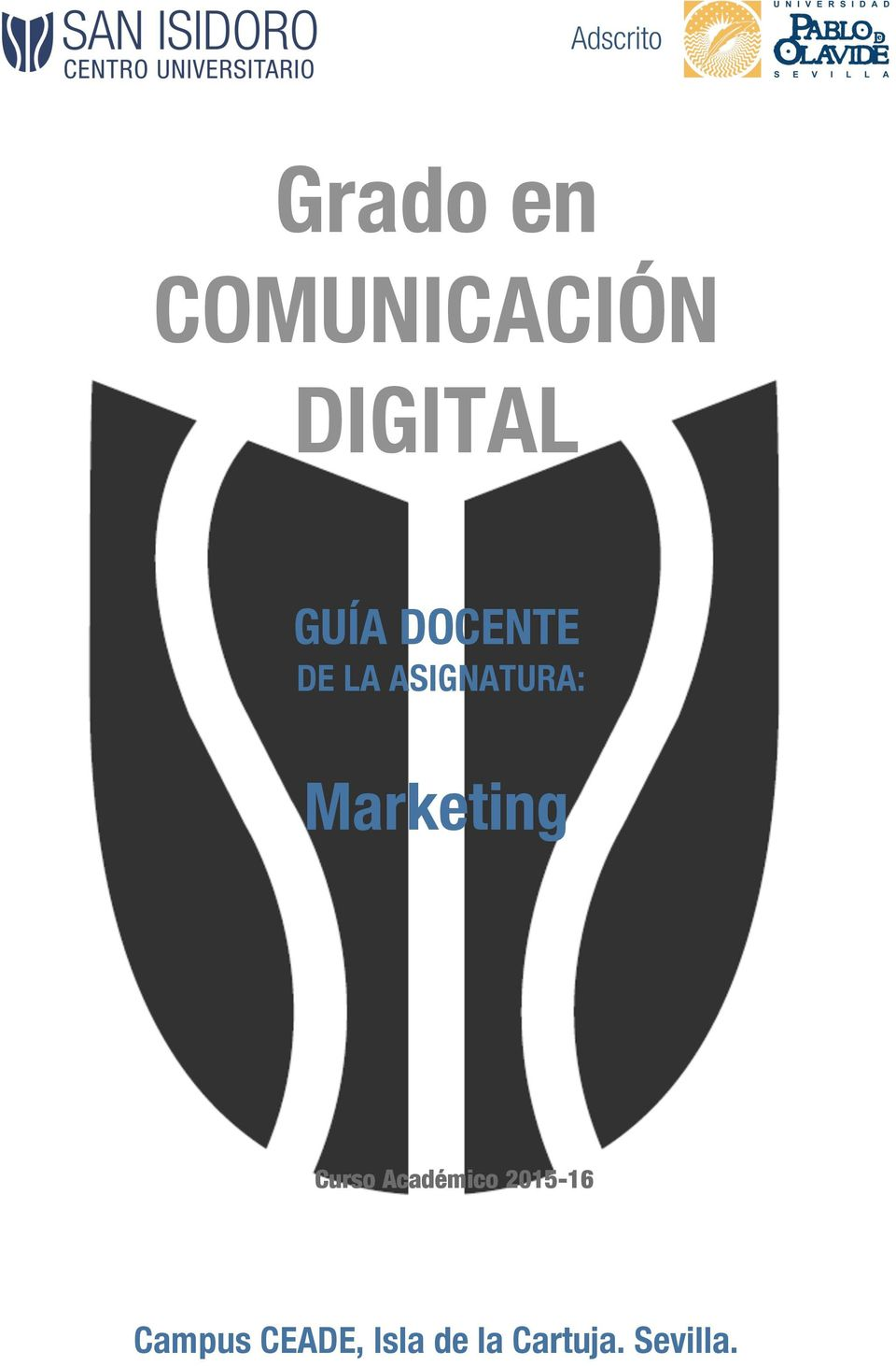 Marketing Curso Académico 2015-16