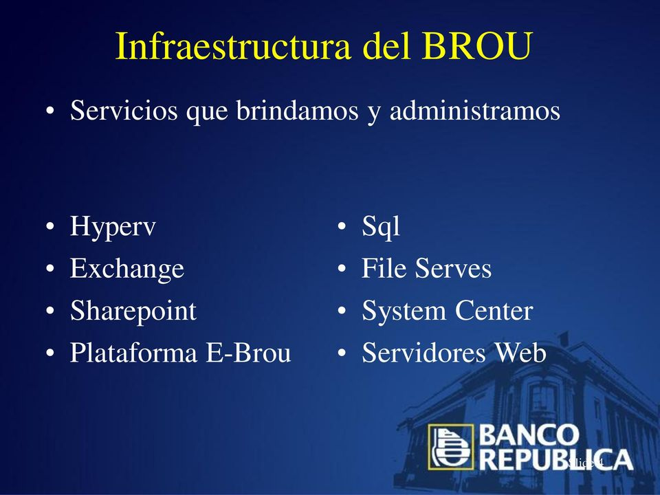 Exchange Sharepoint Plataforma E-Brou