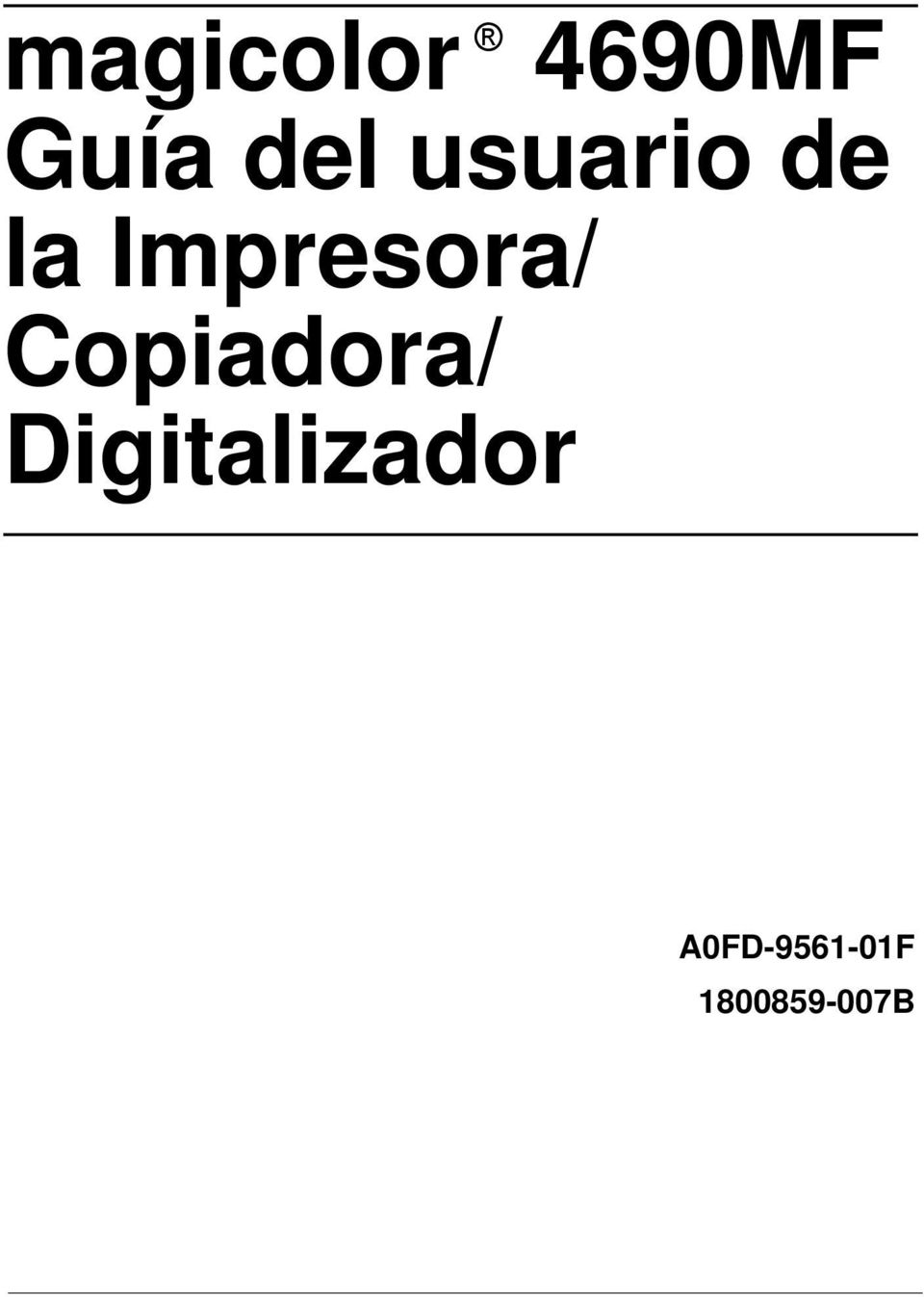 Copiadora/ Digitalizador