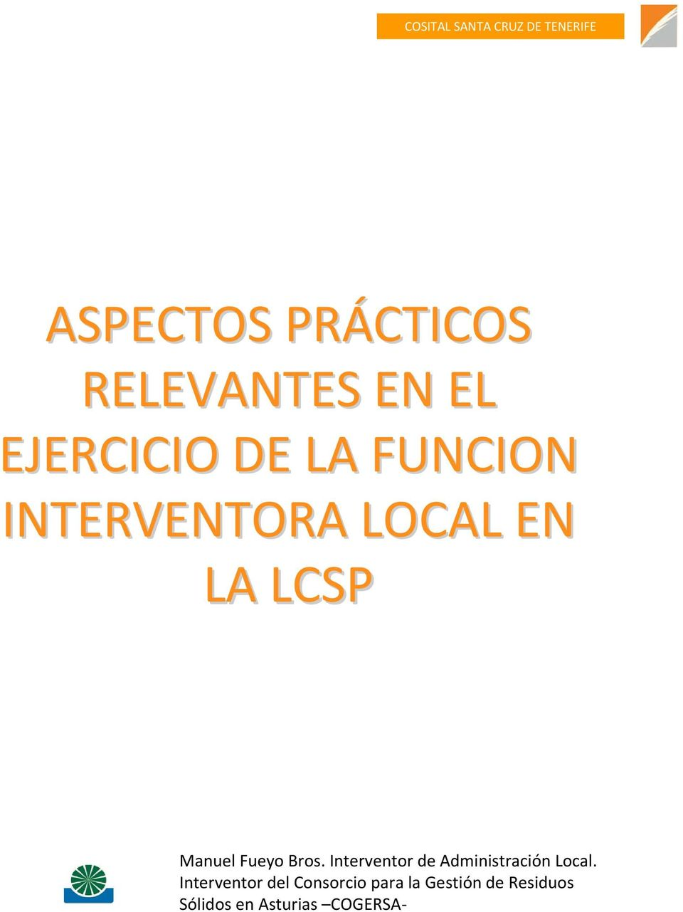 Interventor de Administración Local.