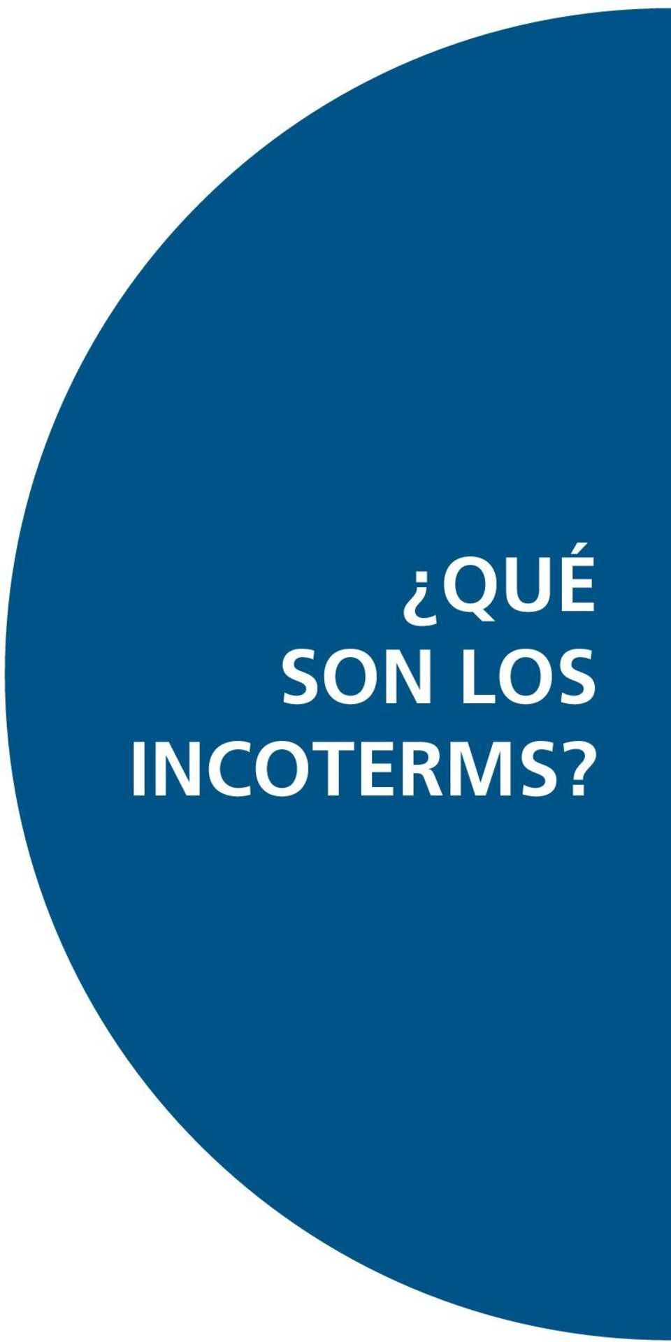 incoterms?