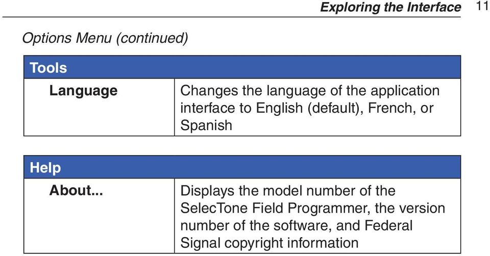 Spanish Help About.