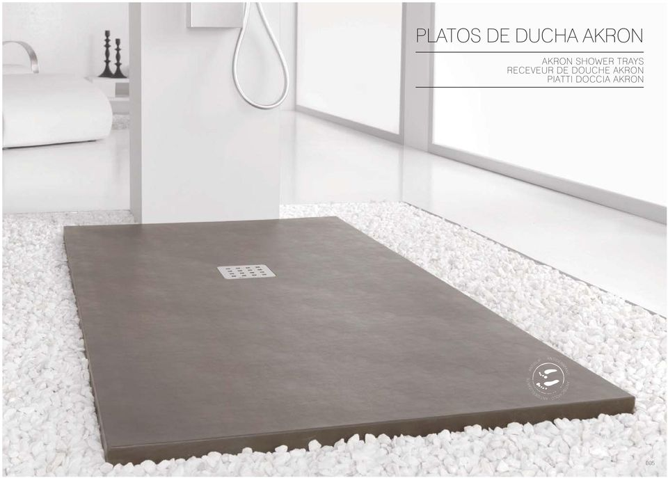 DUCHA AKRON AKRON SHOWER TRAYS