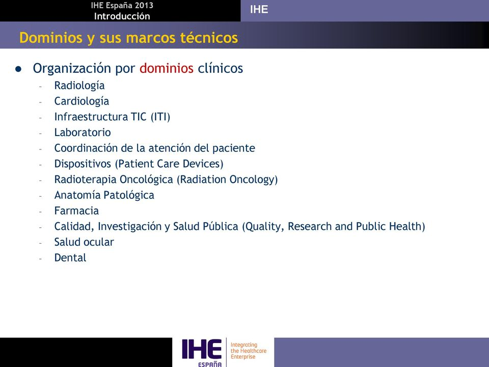 (Patient Care Devices) Radioterapia Oncológica (Radiation Oncology) Anatomía Patológica