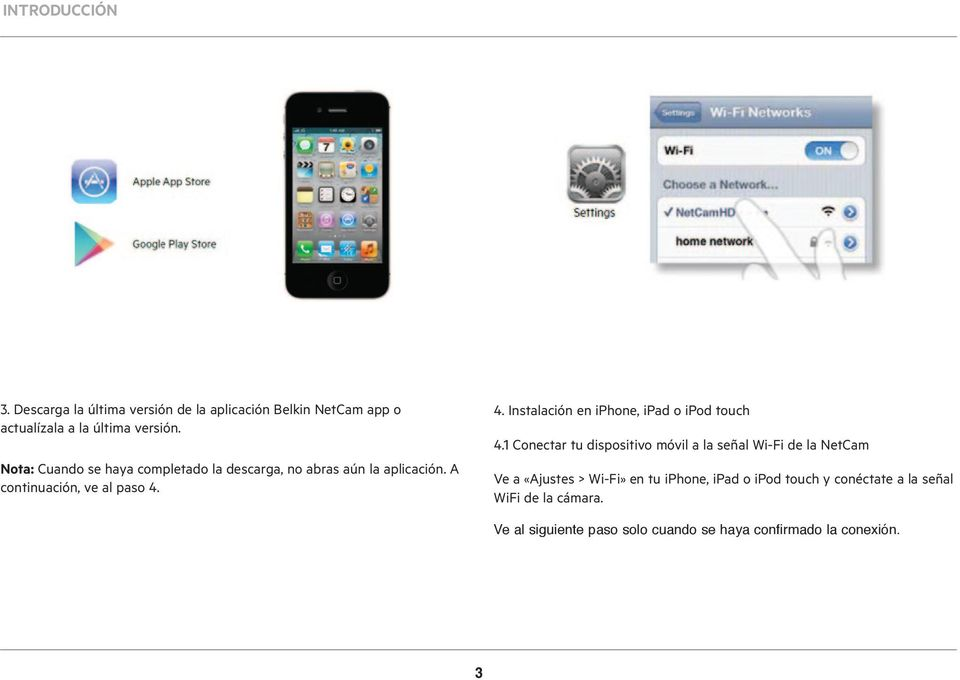 4. Instalación en iphone, ipad o ipod touch 4.