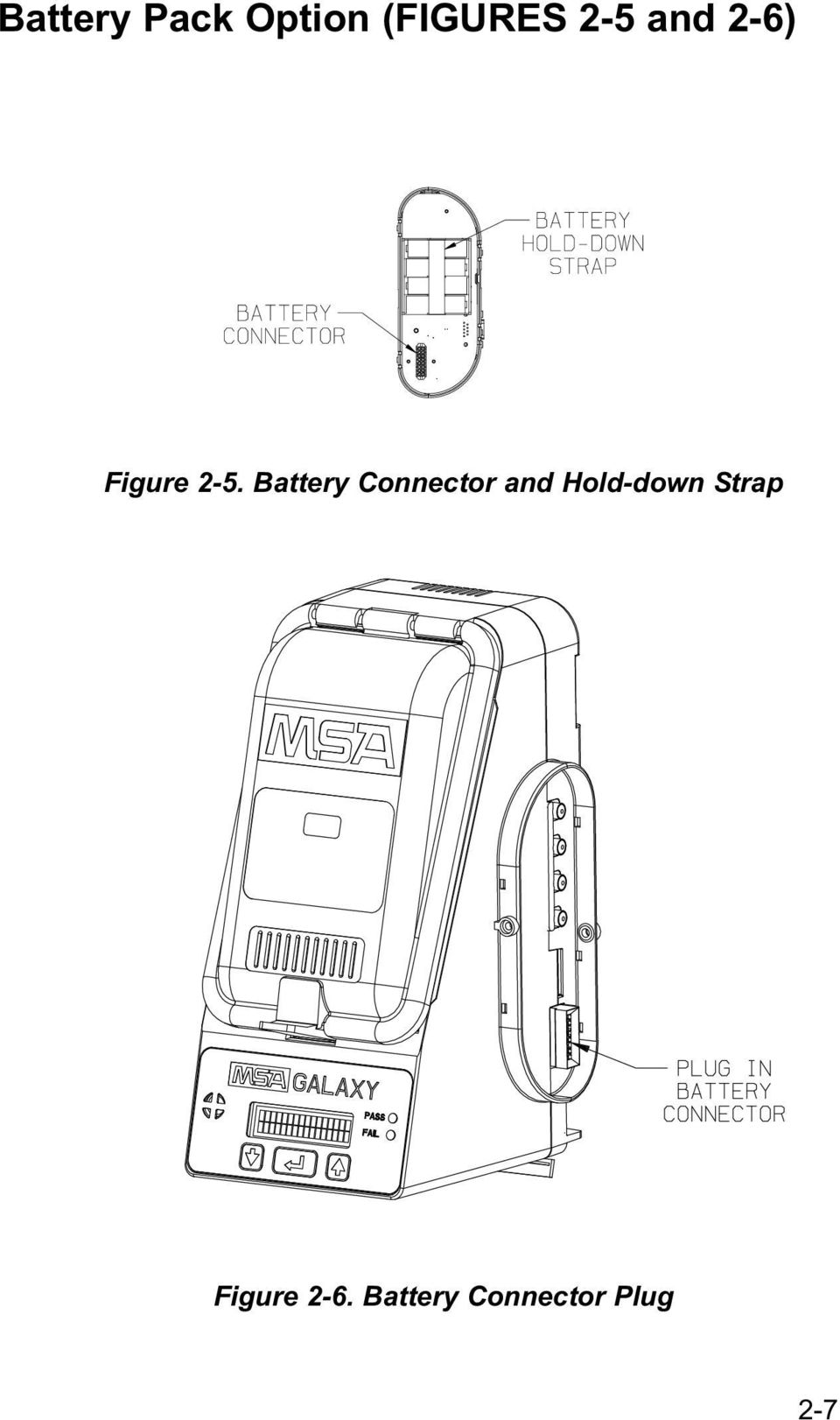 Battery Connector and Hold-down