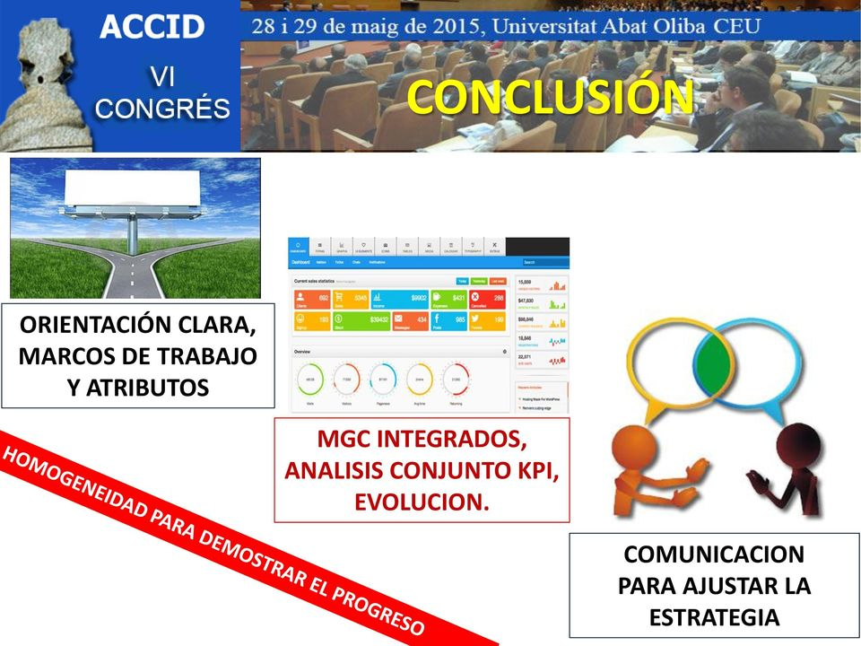 INTEGRADOS, ANALISIS CONJUNTO KPI,