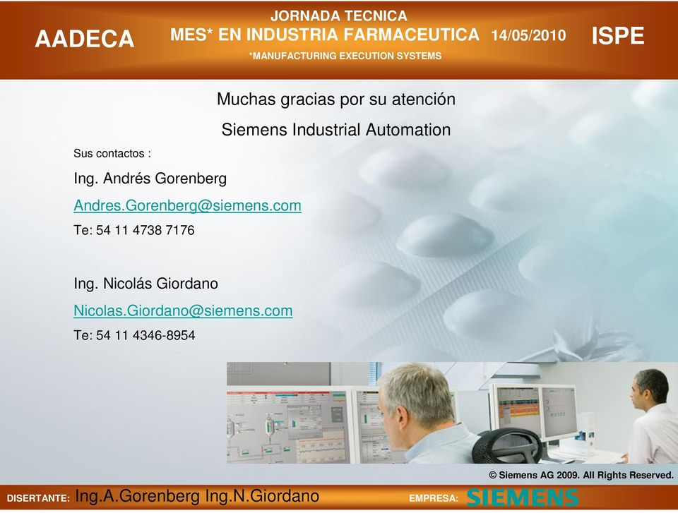 com Te: 54 11 4738 7176 Siemens Industrial Automation