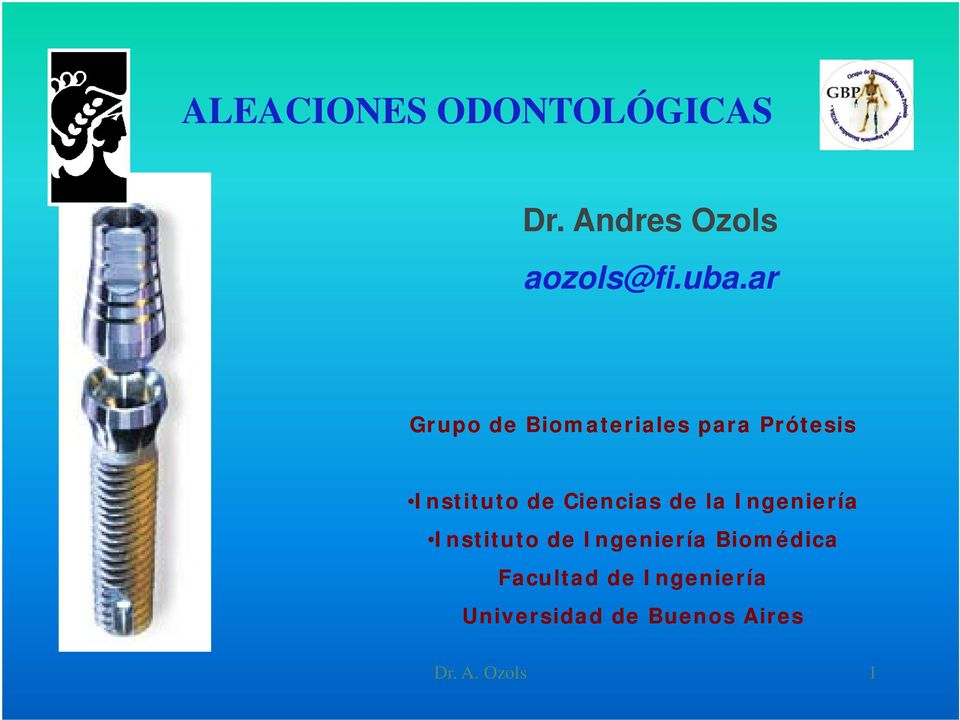 Ciencias de la Ingeniería Instituto de Ingeniería
