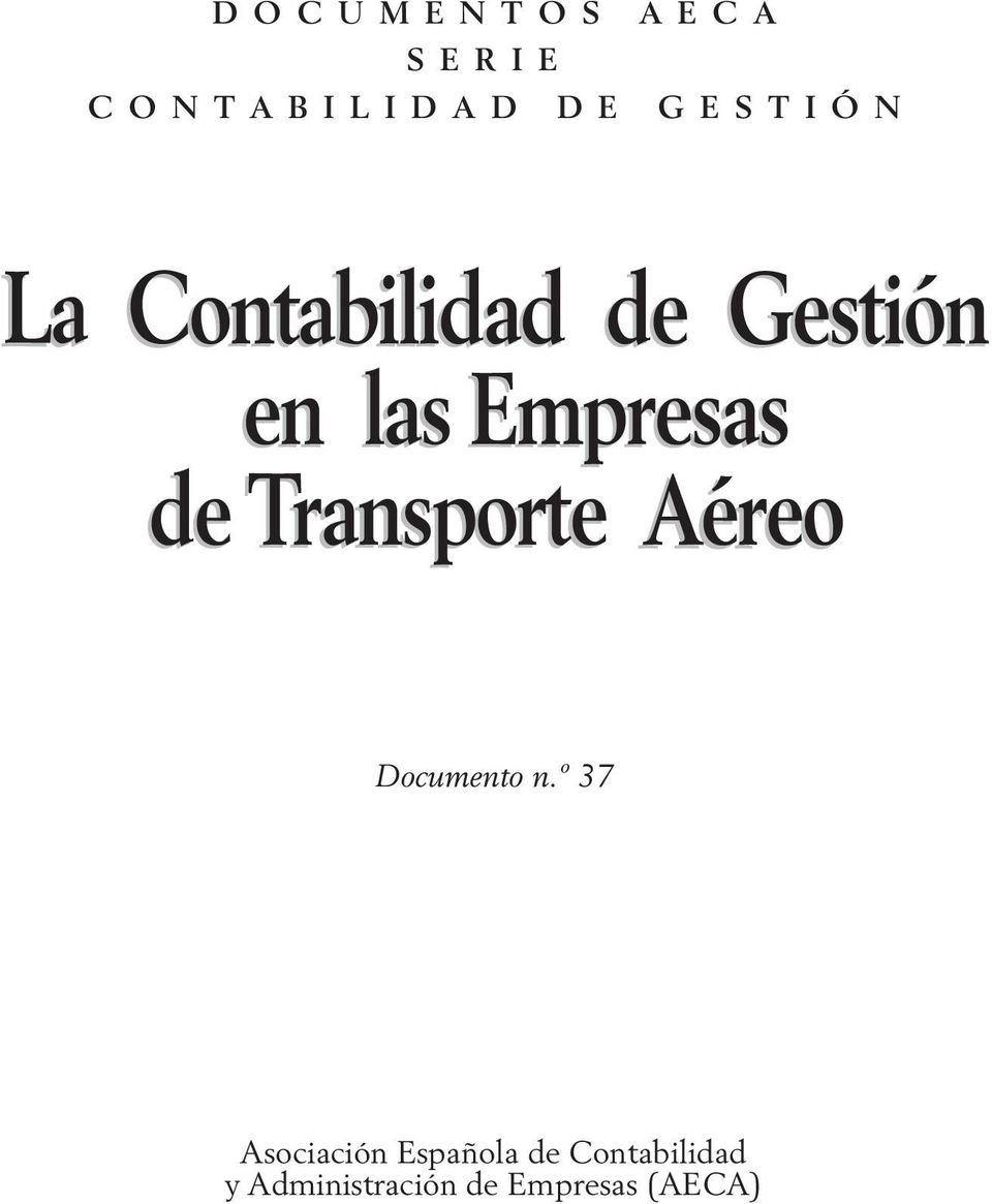 Transporte Aéreo Documento n.