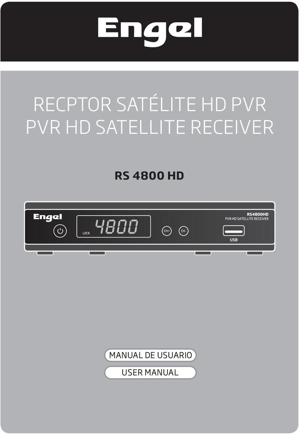 RECEIVER RS 4800 HD