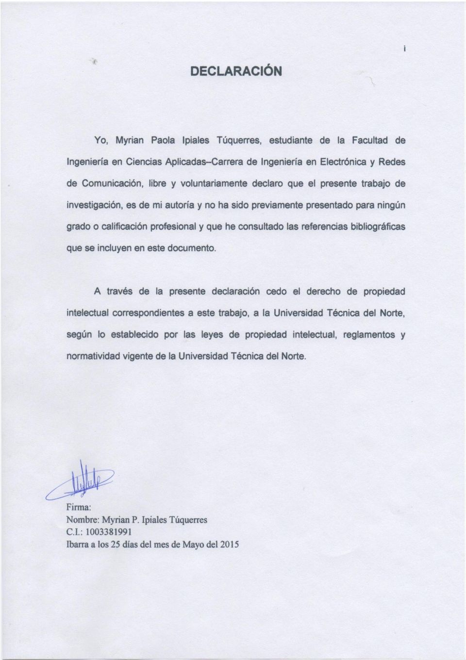 que se incluyen en este documento.