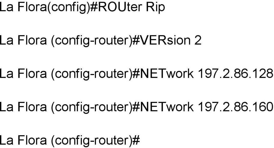 (config-router)#network 197.2.86.