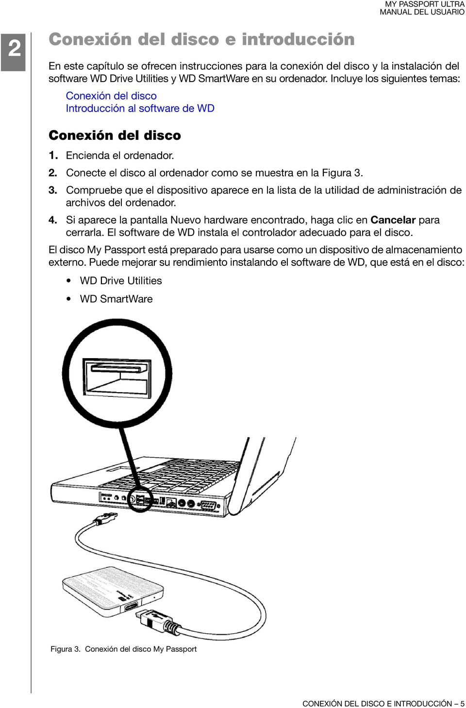 manual for wd my passport ultra