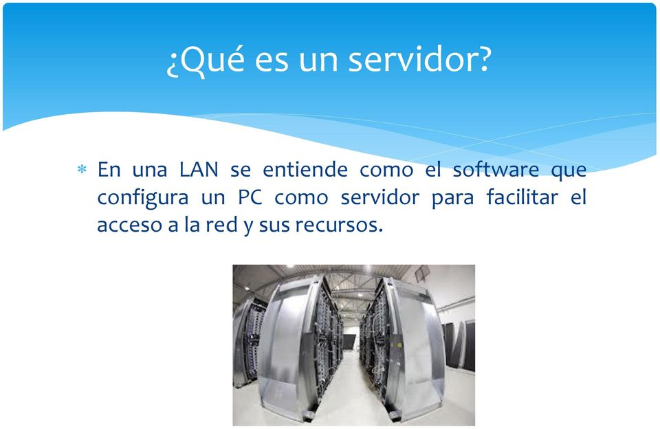 software que configura un PC como