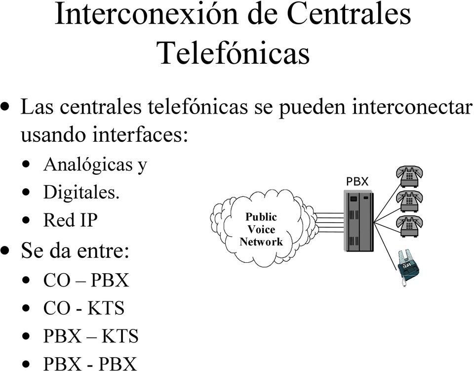 Analógicas y Digitales.