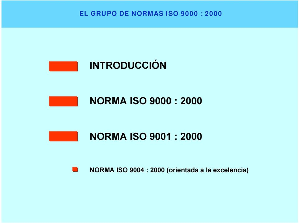 NORMA ISO 9001 : 2000 NORMA ISO