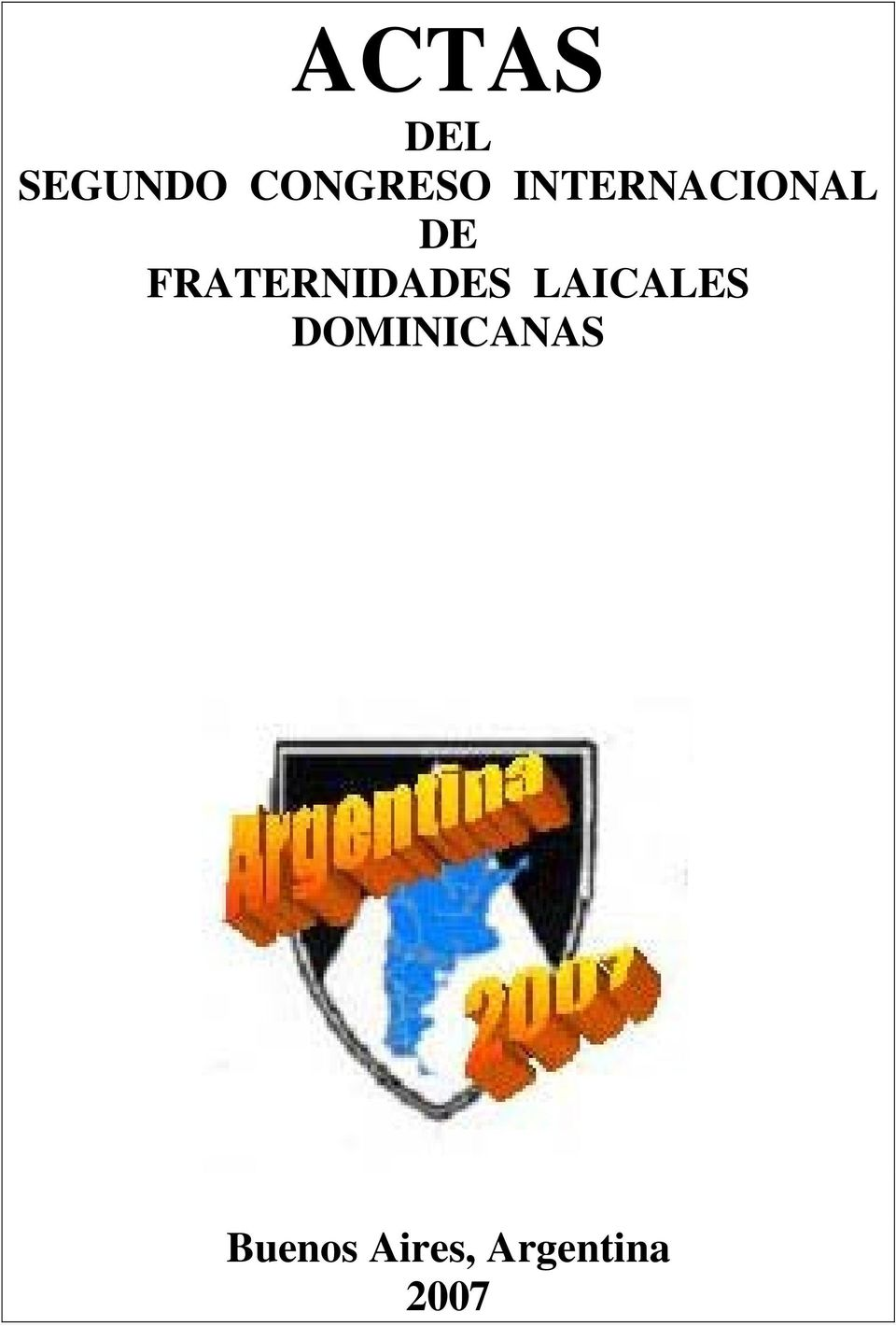 FRATERNIDADES LAICALES