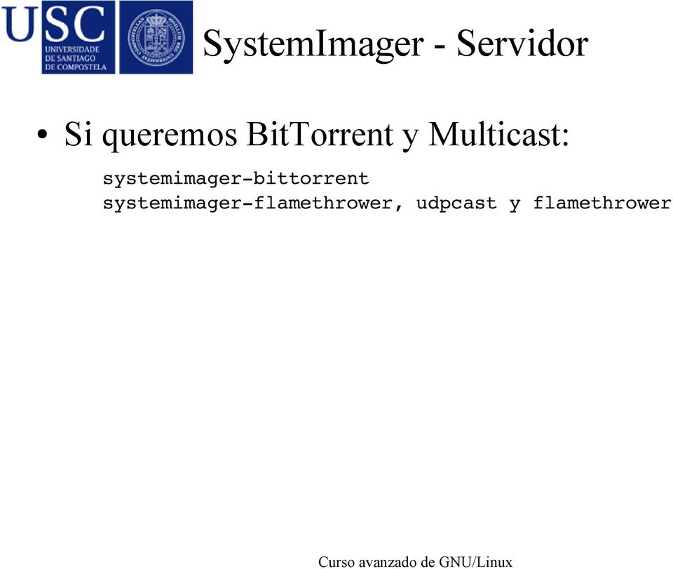 systemimager bittorrent