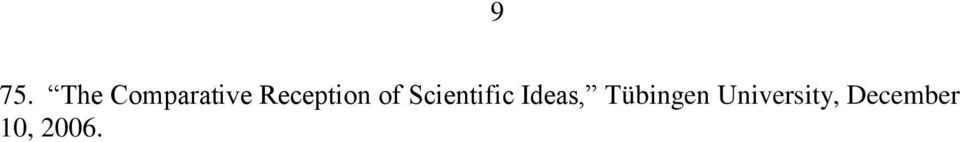 Scientific Ideas,