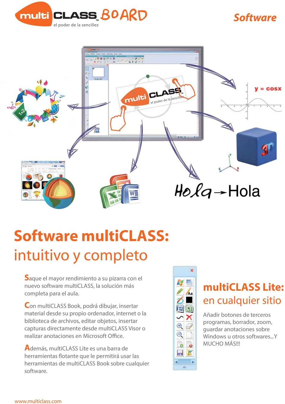 multiclass Visor o realizar anotaciones en Microsoft Office.