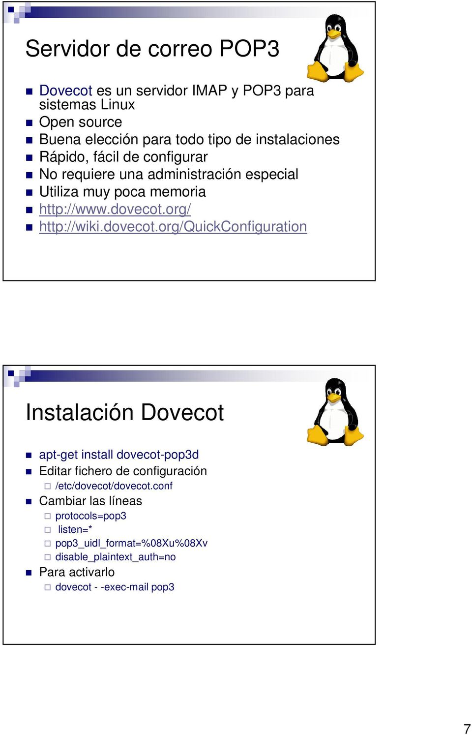 org/ http://wiki.dovecot.