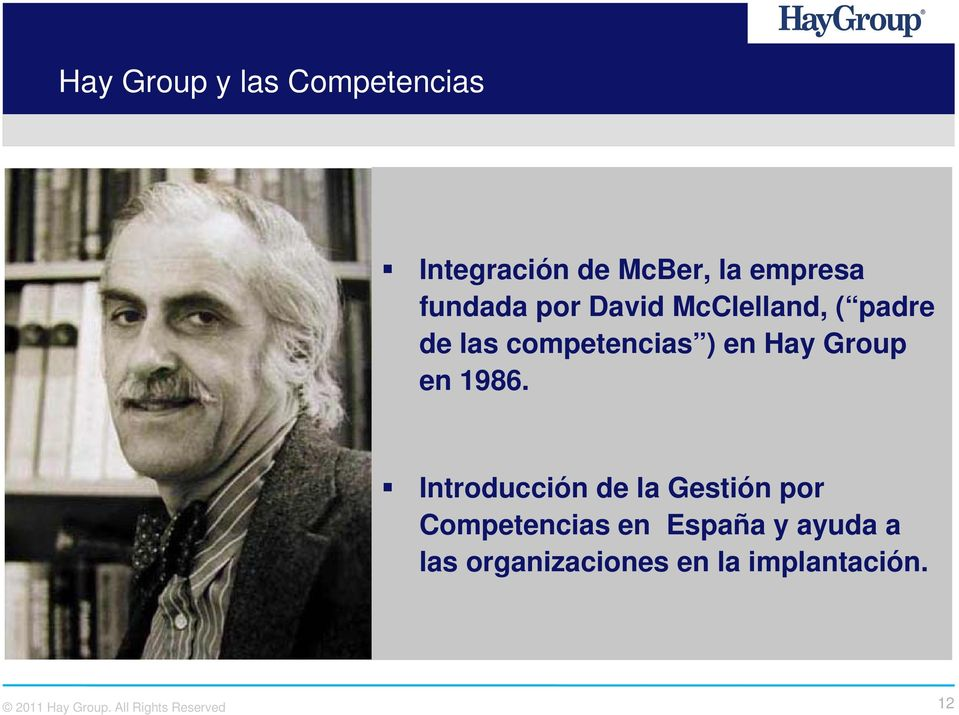 Hay Group en 1986.
