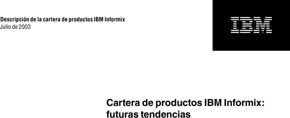productos IBM