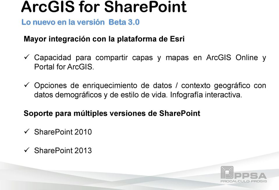 Online y Portal for ArcGIS.