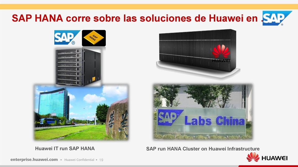 Huawei IT run SAP HANA SAP