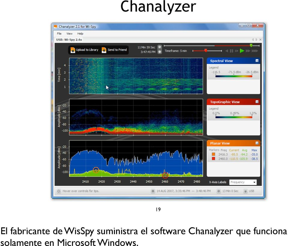 software Chanalyzer que