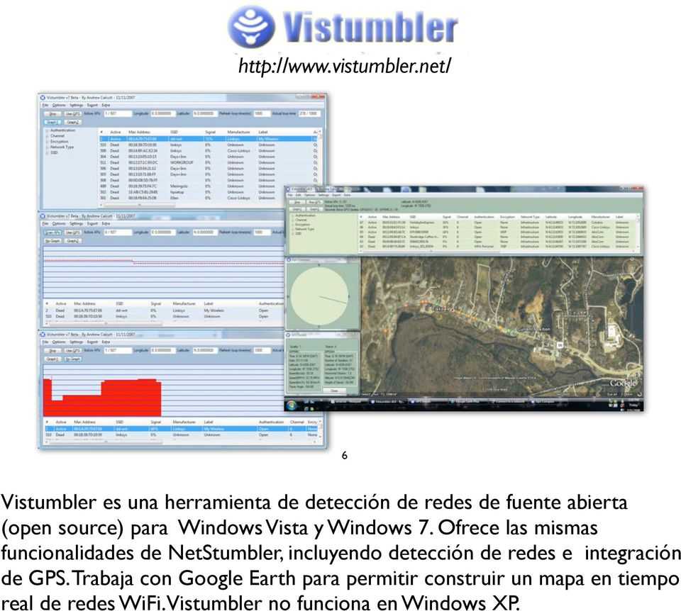para Windows Vista y Windows 7.