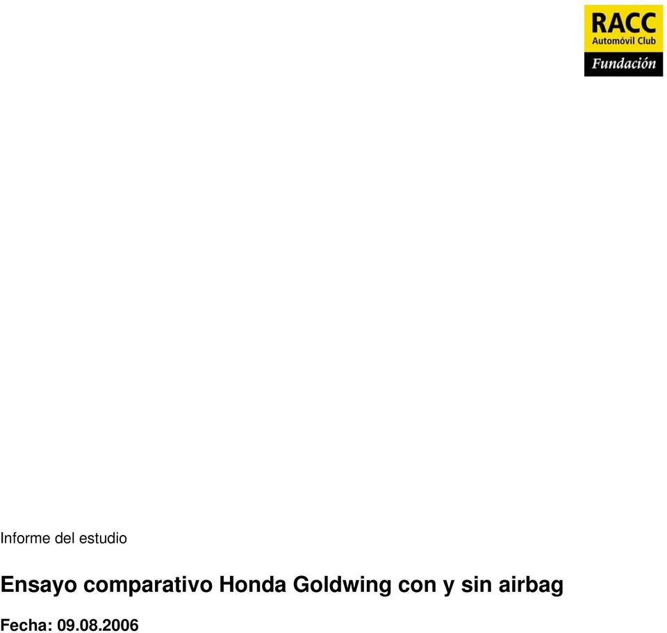 Honda Goldwing con y