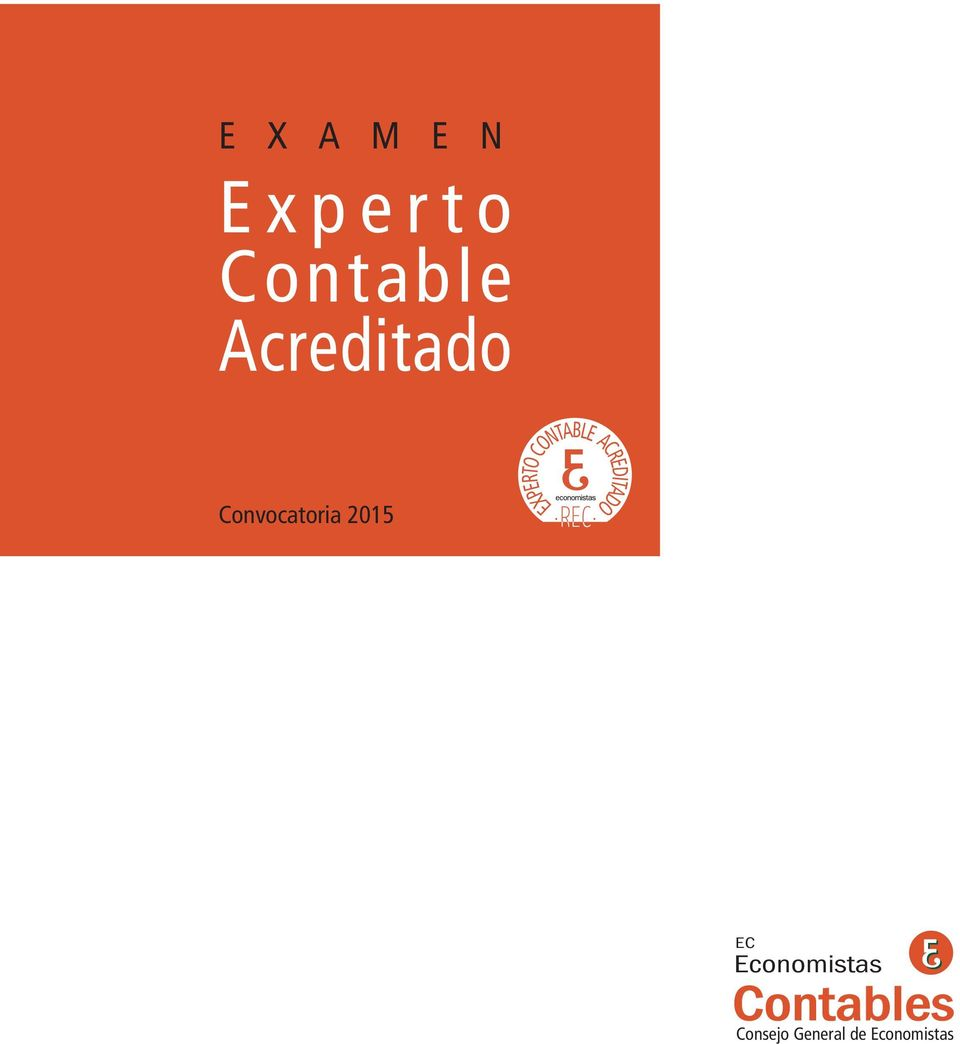 EXPERTO CONTABLE ACREDITADO EC