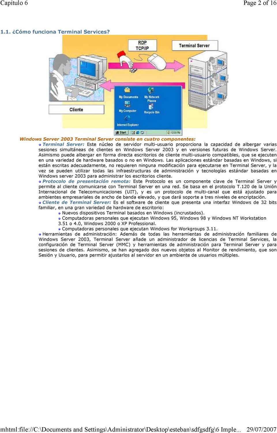 en Windows Server 2003 y en versiones futuras de Windows Server.
