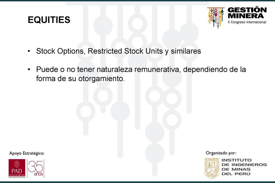 Naturaleza stock options
