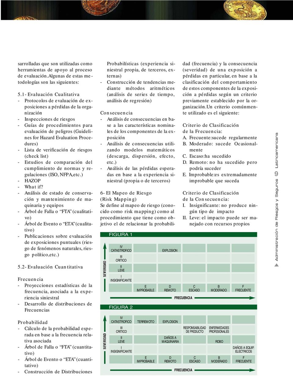 Hazard Evaluation Procedures) - Lista de ve rificación de ri esgos (check list) - Estudios de comparación del cumplimiento de normas y regulaciones (ISO, NFPA,etc.) - HAZOP - What if?