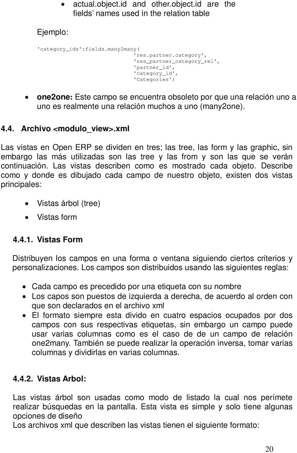(many2one). 4.4. Archivo <modulo_view>.