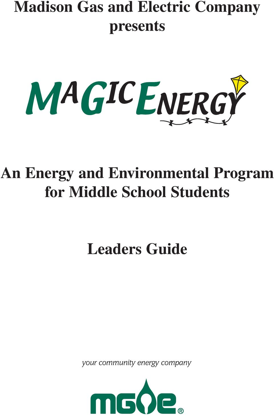 Program for Middle School Students