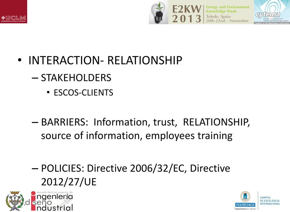 RELATIONSHIP, source of information, employees