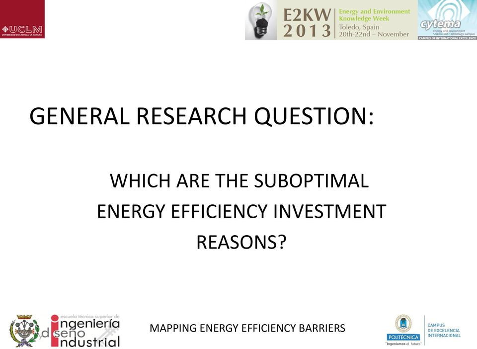 ENERGY EFFICIENCY INVESTMENT