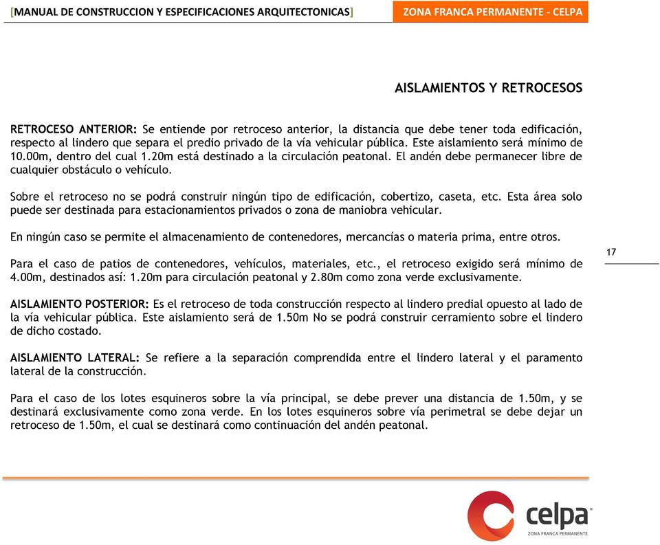 Manual de construccion y especificaciones arquitectonicas for Manual de construccion de piscinas pdf