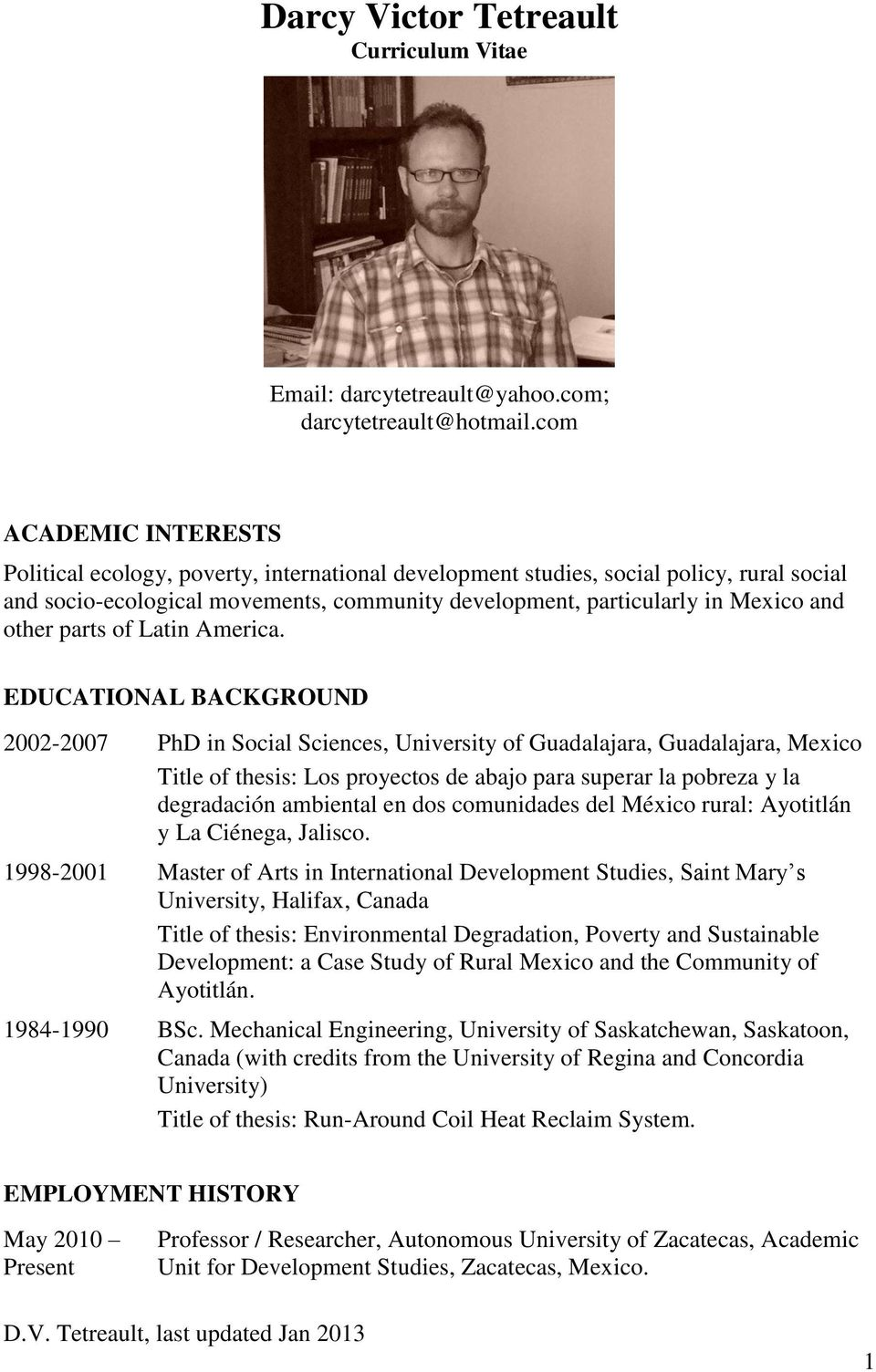 Recent PhD Theses - Applied Mathematics