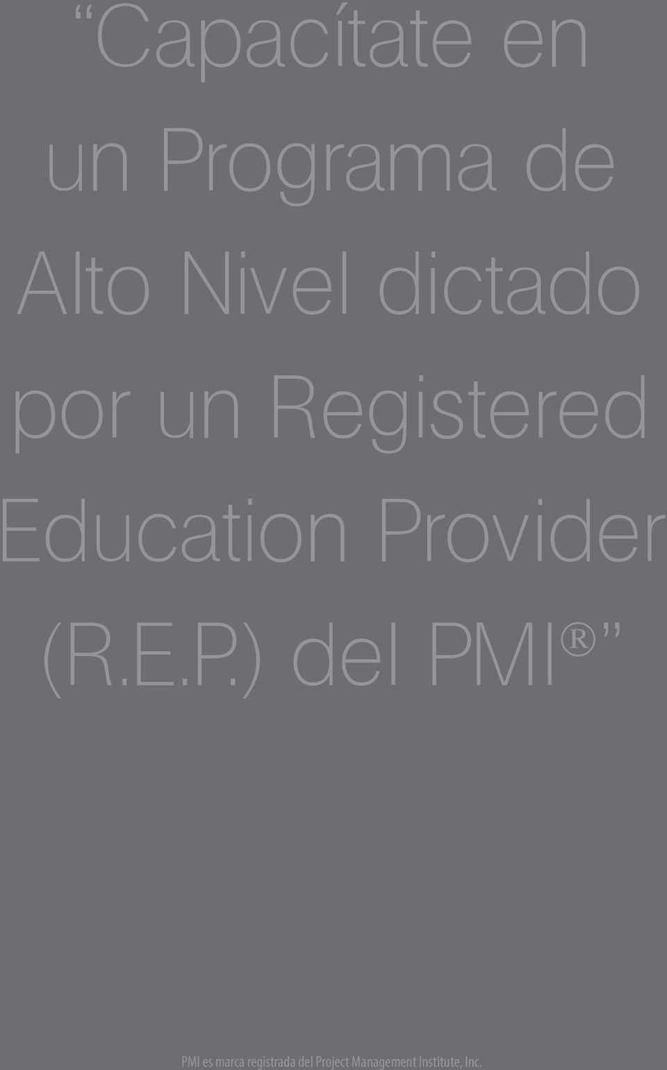 Registered Education Pr
